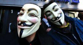 Az anonymus maszk érdekes