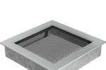 Megfelelő minőségű kandalló szellőzőrács