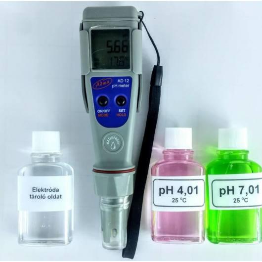 medence pH mérő
